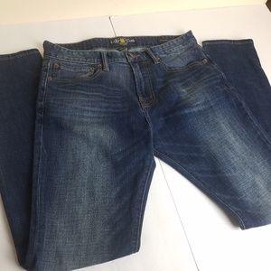 LUCKY BRAND MEN'S jeans  30 X 32 slouch Skinny